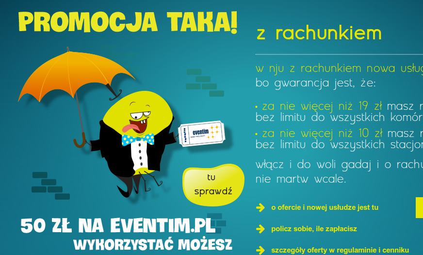 NJU Mobile promocja eventim