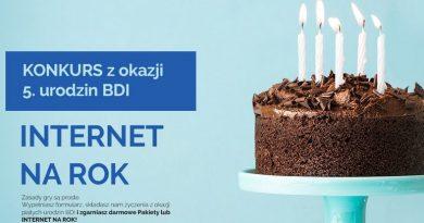 Aero2 – konkurs z okazji 5 urodzin Darmowego Dostępu do Internetu