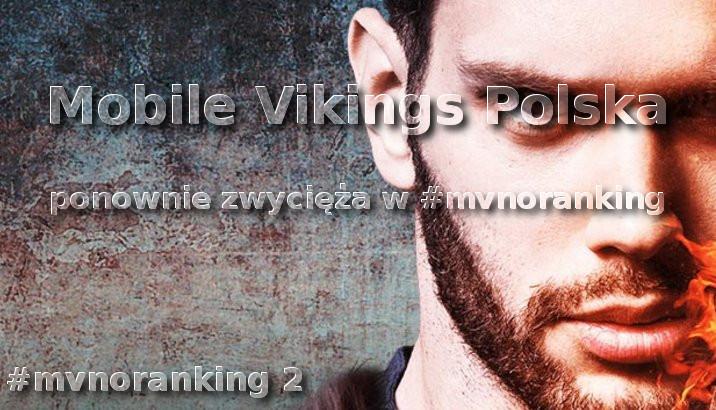 Mobile Vikings Polska wygrywa pierwszy #mvnoranking