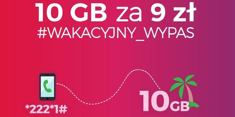 Virgin Mobile – 10 GB za 9 zł na 30 dni, czyli #WAKACYJNY_WYPAS