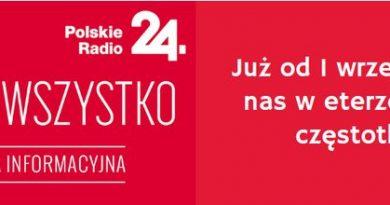 Polskie Radio 24 na falach UKF, Czwórka w DAB+ oraz internecie