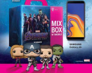 """Najpotężniejszy zestaw wszechświata, czyli nowy MIX BOX T‑Mobile z figurką kolekcjonerską z filmu """"Avengers. Koniec gry"""""""